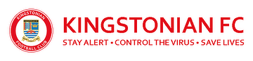 Kingstonian FC - Stay Alert - Control the Virus - Save Lives
